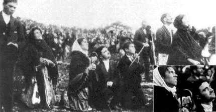 Fatima - October 13, 1917 - 70,000 people witness the Miracle of the Sun