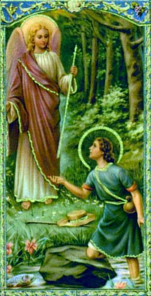 a description of saint raphael the archangel