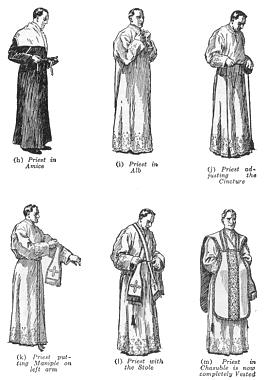 Medieval Clergy Clothing The Vestments Worn at Mass